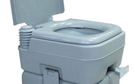 Chemická toaleta Rulyt 12/20 L šedá + Speciální toaletní papír Campingaz pro chemické toalety EURO SOFT (4 role) v hodnotě 107 Kč