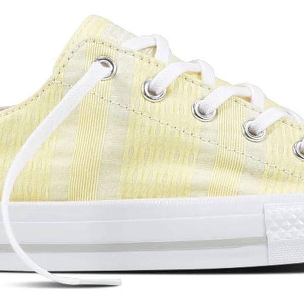 Converse žluté dámské tenisky CTAS GEMMA OX Lemon Haze/White