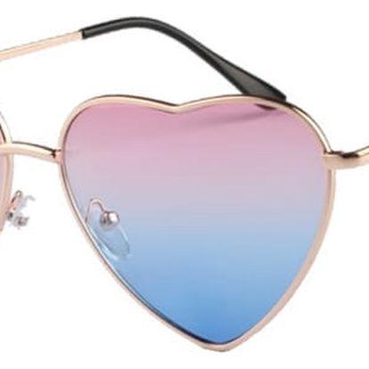 Srdíčkové sluneční brýle - 15 barev