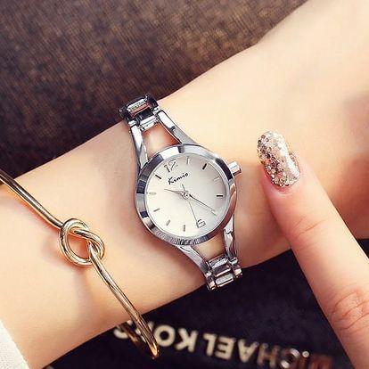 Elegantní dámské hodinky - mix barev