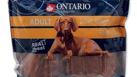 Pochoutka Ontario SnackAdult Dry Rabbit fillet 500g