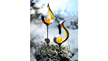 """Solární dekorace """"candela"""". sada 2 kusů"""
