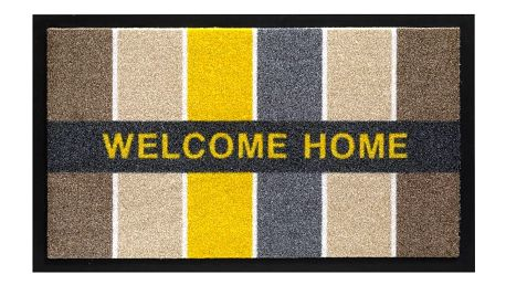 Rohožka Hamat Welcome Home Blocks, 45x75cm