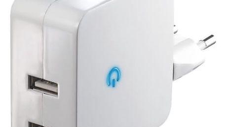 Nabíječka do sítě EMOS USBEE HOME D4 bílá