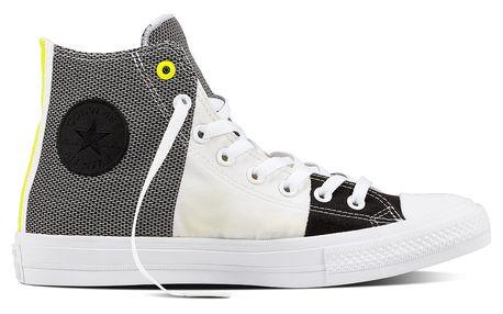 Converse barevné tenisky CTAS II HI White/Black/Fresh Yellow