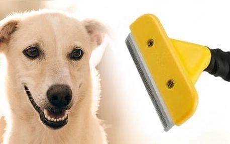 Vyčesávací hrablo pro psy a kočky