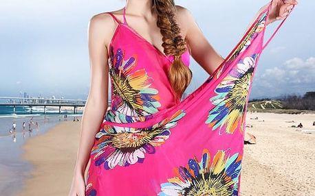 Dámské plážové pareo v mnoha variantách