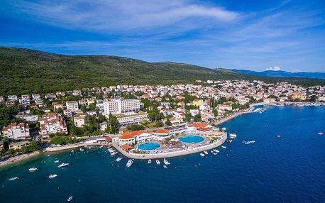 Chorvatsko - Kvarner na 8 dní, plná penze, polopenze nebo snídaně s dopravou vlastní