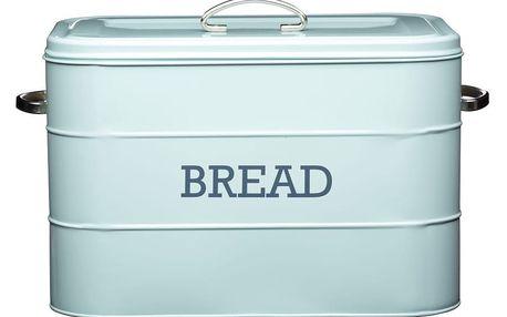 Modrá plechová dóza na chléb Kitchen Craft Bread - doprava zdarma!