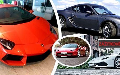 Svezte se ve Ferrari, Lamborghini nebo Porsche a užijte jedinečný zážitek na který budete dlouho vzpomínat. Nezapomenutelná jízda v nejrychlejších autech světa v běžném provozu jako řidič nebo spolujezdec.