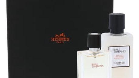 Hermes Terre D´Hermes dárková kazeta pro muže toaletní voda 12,5 ml + balzám po holení 40 ml