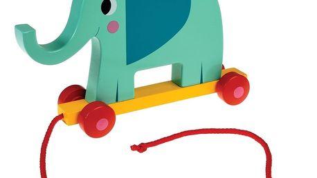 Dřevěná hračka Rex London Elvis The Elephant