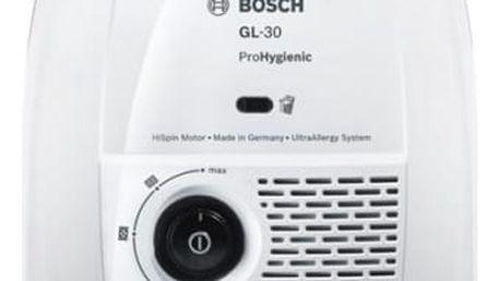 Vysavač podlahový Bosch ProHygienic BGL3HYG bílý