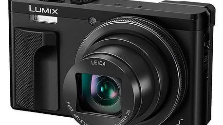 Digitální fotoaparát Panasonic DMC-TZ80EP-K černý + Doprava zdarma