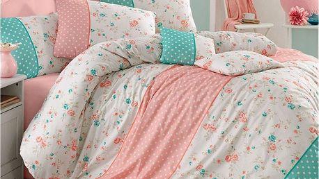 Homeville Povlečení Emily dots bavlna, 140 x 200 cm, 70 x 90 cm
