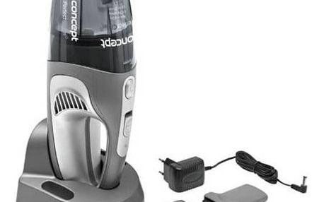 Akumulátorový vysavač Concept Perfect Clean VP4340 šedý + Doprava zdarma