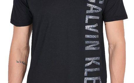 Calvin Klein černé pánské tričko Relaxed Crew Tee Black