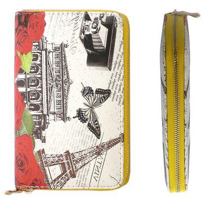 Dámská peněženka vintage velkoměsta