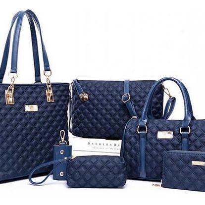 Velká sada dámských kabelek - 6 dílů - dodání do 2 dnů