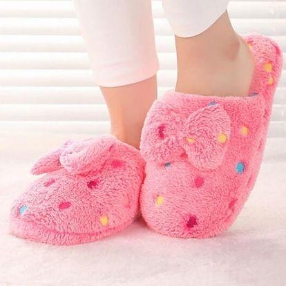 Roztomilé dámské pantoflíčky - 3 barvy