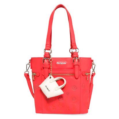 Desigual červená kabelka Mini Argentina Vanesa
