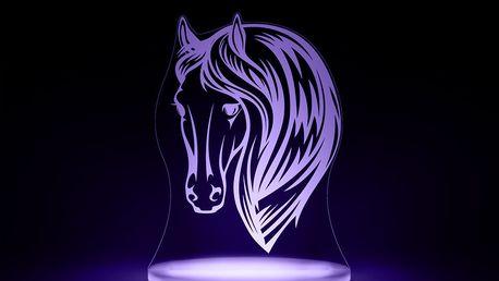 Dětské LED noční světýlko Aloka Horse - doprava zdarma!