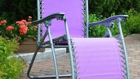 Zahradní křeslo AN2320 fialové