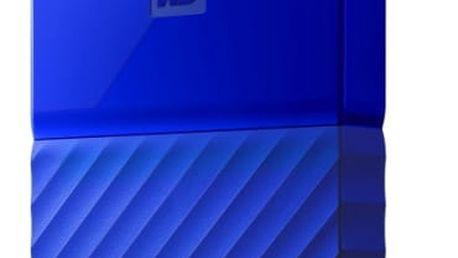 "Externí pevný disk 2,5"" Western Digital 1TB (WDBYNN0010BBL-WESN) modrý"