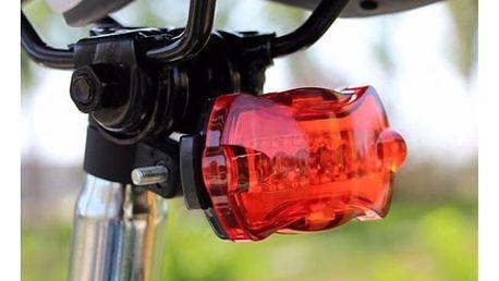 Červená blikačka na kolo - dodání do 2 dnů