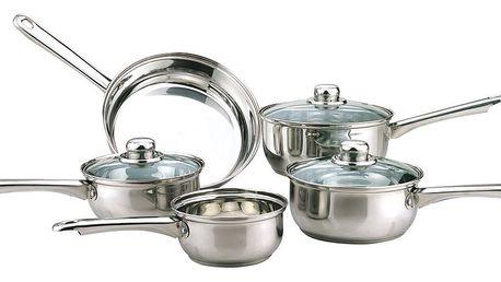 5dílná sada nádobí na indukci Sabichi Essentials - doprava zdarma!