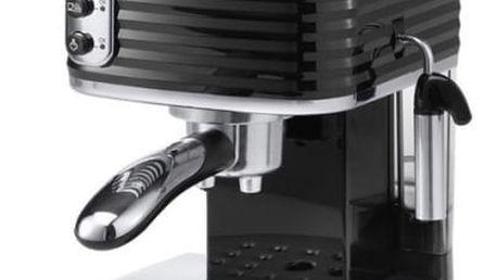 Espresso DeLonghi Scultura ECZ351BK černé/nerez