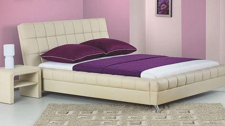 Moderně prošitá postel BONITA 160x200 cm vč. roštu