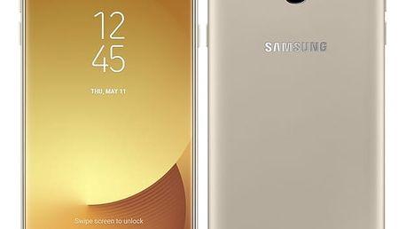 Mobilní telefon Samsung J7 2017 (J730F) (SM-J730FZDDETL) zlatý + DOPRAVA ZDARMA