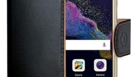 Pouzdro na mobil flipové Celly pro Huawei P8/P9 Lite (2017) (WALLY642) černé