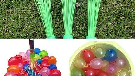 Samoplnící vodní balónky 37 ks
