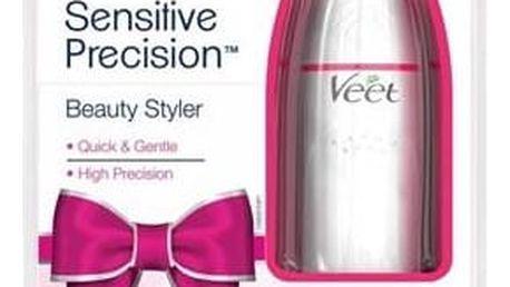 Zastřihovač chloupků Veet Sensitive Precision růžový Sluneční brýle s růžovými obroučky (zdarma)