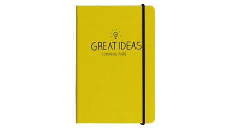 Notes A5 Happy Jackson Great Ideas Yellow