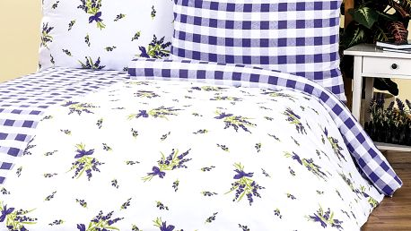 4Home Bavlněné povlečení Provence, 220 x 200 cm, 2 ks 70 x 90 cm