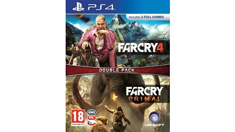 Doublepack - Far Cry 4 a Far Cry: Primal (PS4)