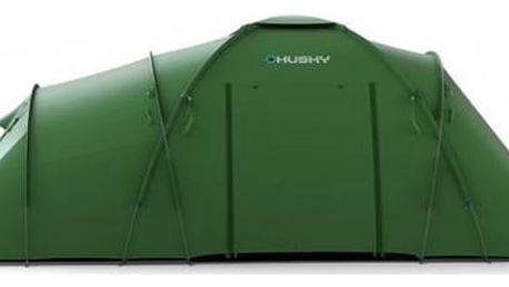 Stan Husky Family Boston 6 zelený + Přístřešek BLUM 2 PLUS v hodnotě 790 Kč + Doprava zdarma
