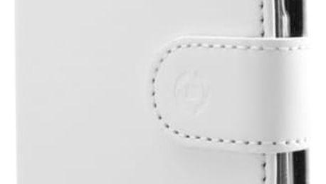 CELLY Wally Pouzdro typu kniha pro Samsung Galaxy S8, PU kůže, bílé - WALLY690WH
