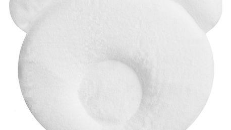 CANDIDE Panda polštářek 21 x 19cm, bílý