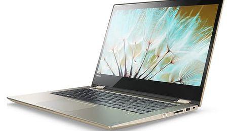 Lenovo Yoga 520-14IKB, zlatá - 80X8005ECK