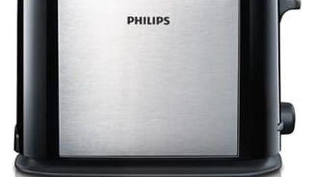 Opékač topinek Philips HD2586/20 šedý