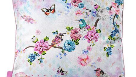 Sametový polštář Dreamhouse So Cute Sam, 45x45cm