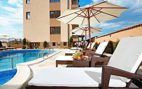 7–9denní pobyt u moře pro 4 osoby v hotelu Stanny Court v bulharském Nesebaru