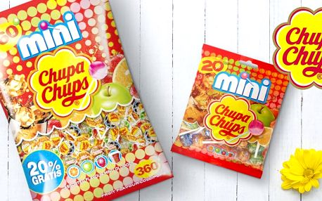 Chupa Chups: mix legendárních mini lízátek