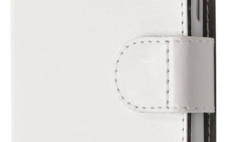 FIXED FIT pouzdro pro Lenovo A6010, kolekce RedPoint, bílá - FIXRP-FIT073-WH