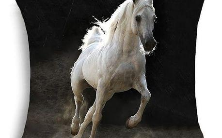 Povlak na polštář s obrázky koní