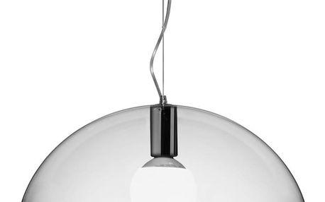 Transparentní stropní svítidlo Kartell FL/Y, ⌀52cm - doprava zdarma!